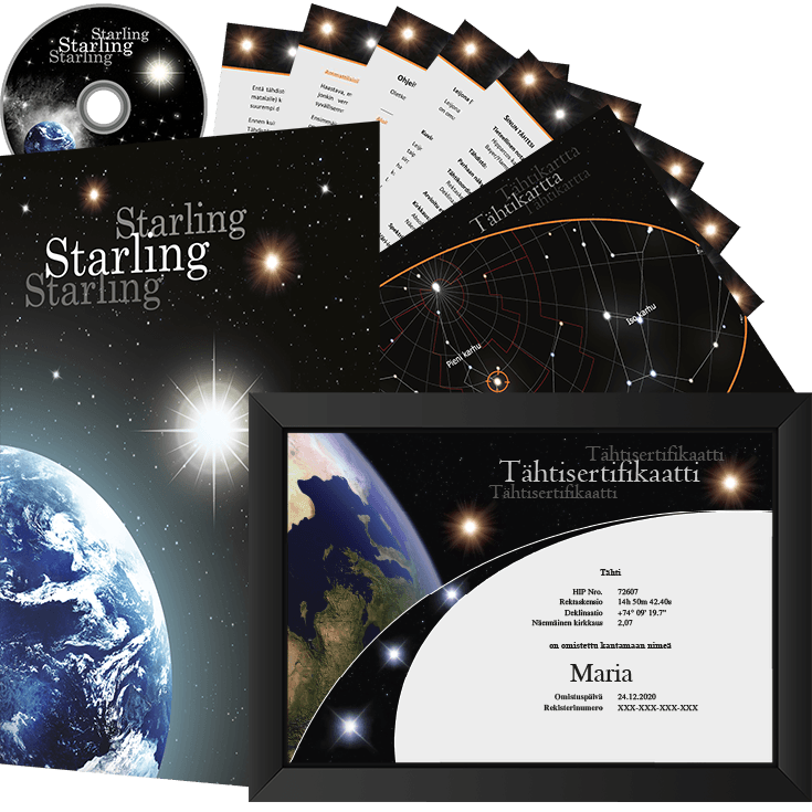 Osta tähti package